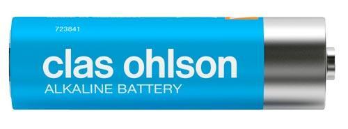 Clas Ohlson batteri